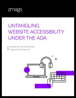 eBook: Untangling Website Accessibility Under the ADA